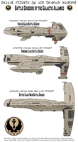 Battle Cruisers of the Galactic Alliance by MarcusStarkiller