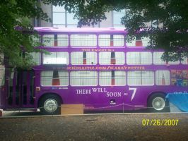 harry potter purple bus 1 by NightShade-Kaos