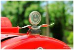 A Moto-Meter Hood Ornament on A REO Firetruck by TheMan268