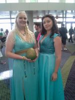 Megacon 2014 Friday Daenerys and Margaery by callmelittlewolf