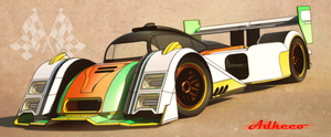 Lemans racer front by aconnoll