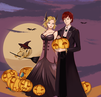 Trick or Treat by Dark666Girl