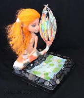 MH repaint 11 HOWLEEN koi mermaid by phairee004