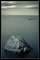 Not the only rock in the ocean by MessiahKhan