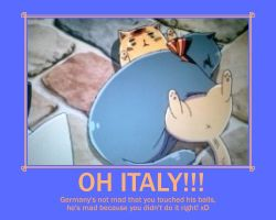 Hetalia: Italy's Touching Mistake! by NiniIs1