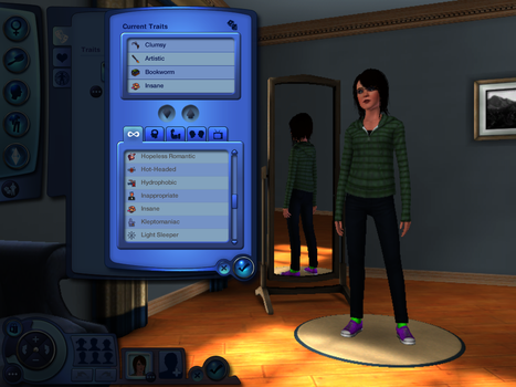 Me in Sims??? by ocmaker101