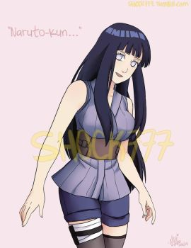 Naruto The Last-Hinata by shock777