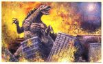 Godzilla Rules Painting by GinoDrone