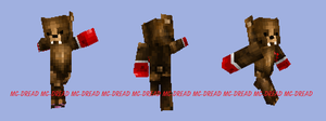 Minecraft-Boxing Bear by MC-Dread
