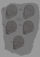 Nod Helmet Sketches by ErastusMercy