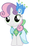 Sweetie Belle in Gala dress by Magister39