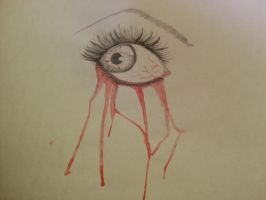 Blood Tears by Lupita8