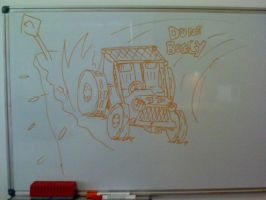 Dune Buggy Sketch by LucaPavone