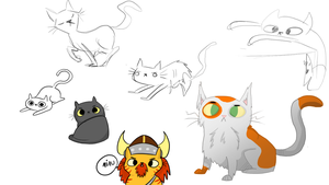More cats by Zefidu