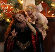 Gabriela and the Secret from a Cherub by SutherlandArt