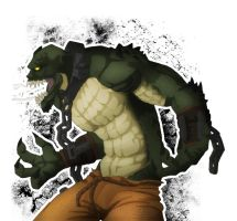 Killer Croc by Noxivaga