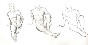 male figure by picktor
