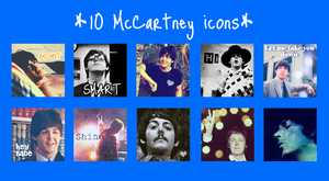 McCartney icons by marielintu