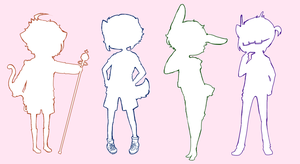 MYSTERY SHOTA! ADOPTS (1 POINT EACH) //TAKEN// by HokiMaru