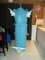 Gyarados costume back view by spookysculpter