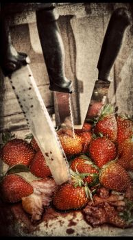 Strawberry gashes all over by PURErube