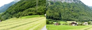 Linthal Switzerland 3D by damylion