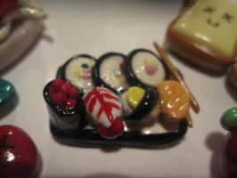 Sushi Platter Magnet by SugiAi
