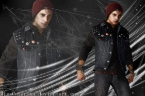 Infamous: Delsin Rowe Wallpaper by MissCatarina