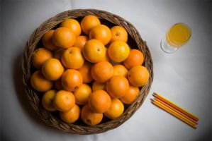Still Life of oranges by Chechipe