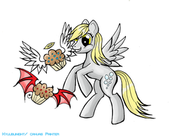 ATG Day Fifteen: The Muffinator by KyuubiNight