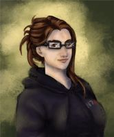 Selfportrait - New Glasses by winterqueen