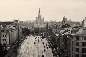 Moscow I by ladykuolema