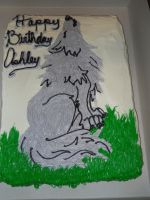 Wolf Cake by MysteriousFoxThief