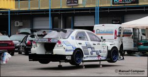 Mitsubishi Lancer Evo Time-Attack by compaan-art