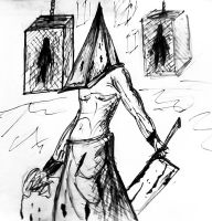 Pyramid Head 2 by janemk