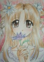 A flower for you... by loveandpeacetotoro