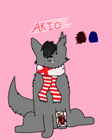 Akio finally got a ref by Walmart-The-Dragon