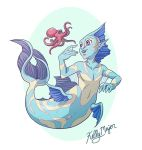 Mermaid and Friend by kmajor