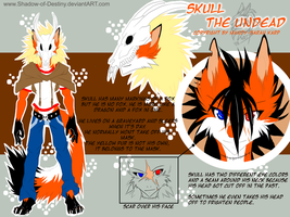 Ref Sheet .:Skull the Undead:. by Shadow-of-Destiny