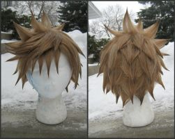 Another Restled Roxas Wig Commission by RHatake