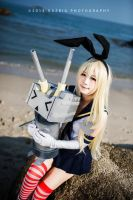 Shimakaze by Bakasteam