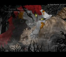 Crookedstars Promise -Fighting the Monster by JB-Pawstep