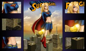 Supergirl Wallpaper by Spacecowboytv