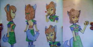 Princess Ying Ling Reference Sheet by AquaMarie1995