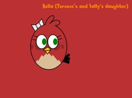 Angry Birds - Bella the twin sister of Sam by worldofcaitlyn