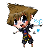 Chibi Sora by HappySmileGear