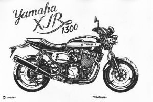 Yamaha XJR 1300 by antocimots