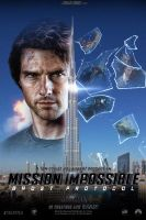 Mission Impossible 4 - poster by AndrewSS7