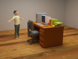VRAY test on my 3ds Model by pujaantarbangsa