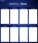 CV - Outfit Meme by Tailic